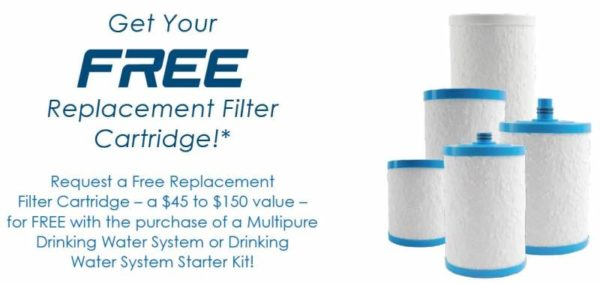 Multipure coupon code promo for free filter replacement