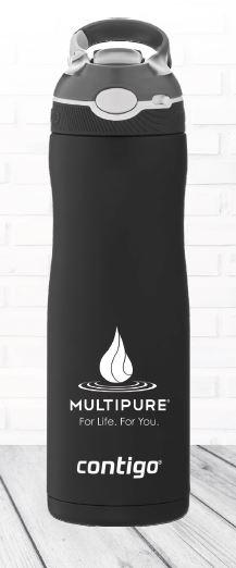 Multipure free water bottle promo